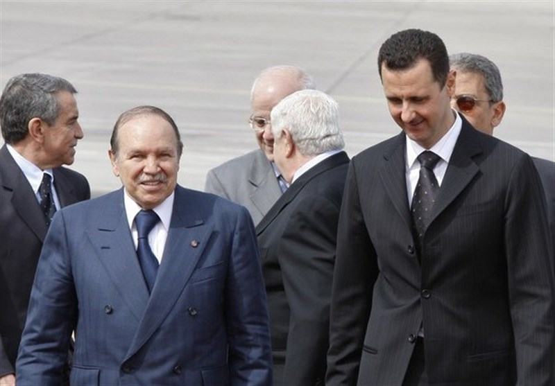 بشار اسد بوتفلیقه
