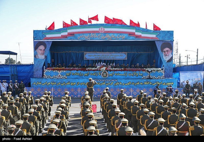Iran Celebrates National Army Day with Military Parades
