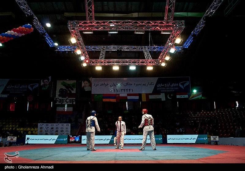 الفریق الایرانی یحتل المرکز الثالث فی بطولة العالم للتایکوندو 2017