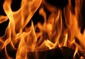 محل حوزه هنری آبادان در آتش سوخت