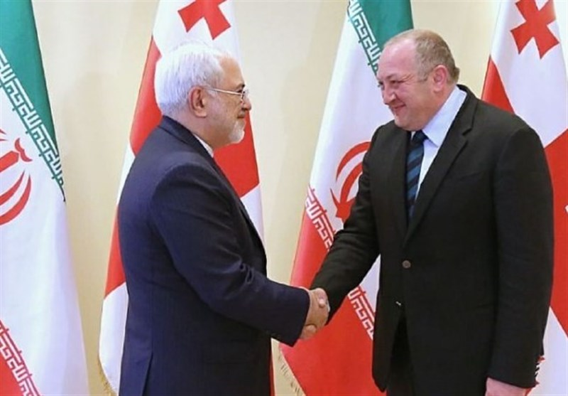 Georgia President Hails Growing Ties with Iran