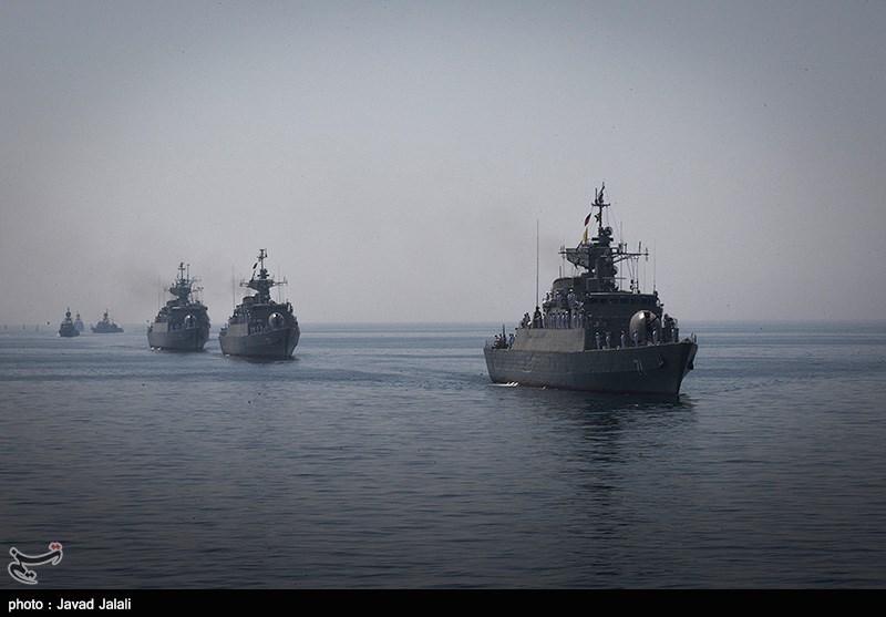 رژه دریایی روز ارتش در بندرعباس