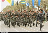 صبحگاه مشترک نیروهای مسلح در اردبیل برگزار شد