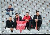 عوامل برهان مبین ورزشگاه را ترک کردند/ هواداران پرسپولیس با بلیت 5 هزار تومانی وارد استادیوم شدند