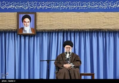 الامام الخامنئی یستقبل قادة الجیش الایرانی