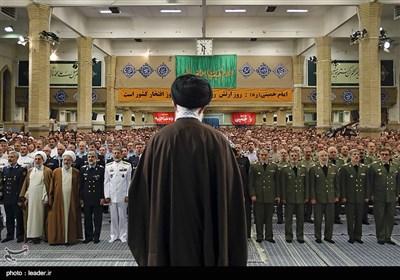 Iran's Army Commanders Meet Leader Ayatollah Khamenei