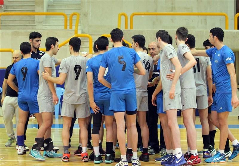 اردوی نهایی تیم والیبال نوجوانان ایران آغاز شد