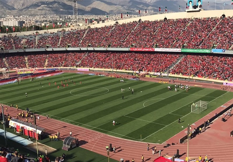 Persepolis Downs Padided in Trophy Ceremony