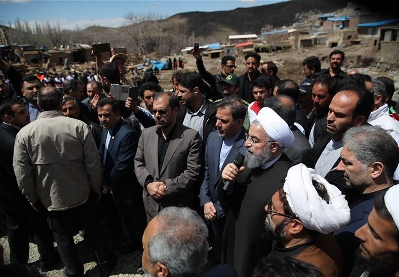 Iran President Orders Reconstruction in Flood-Hit Areas to Start Swiftly