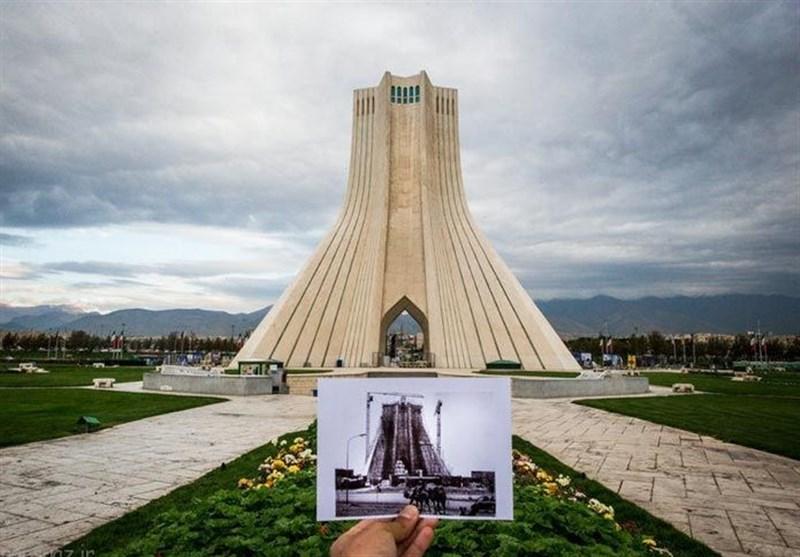 رمز و راز معروفترین کلنگ «طهران» + تصاویر