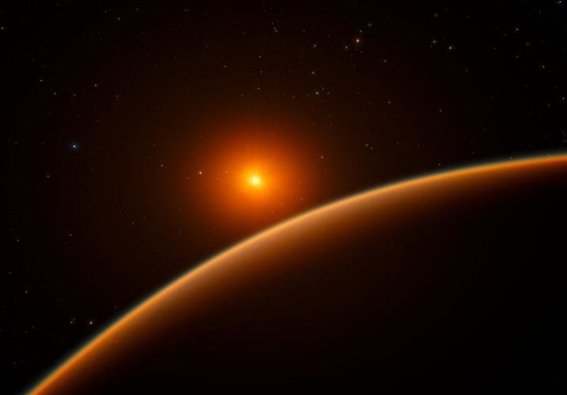 Super-Earth in Habitable Zone: Is There Life?