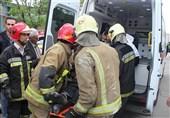 آتشنشانی + اورژانس + مصدوم