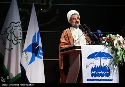 سخنرانی حجتالاسلام ذوالنور در همایش سهم من در امنیت و آرامش - قم
