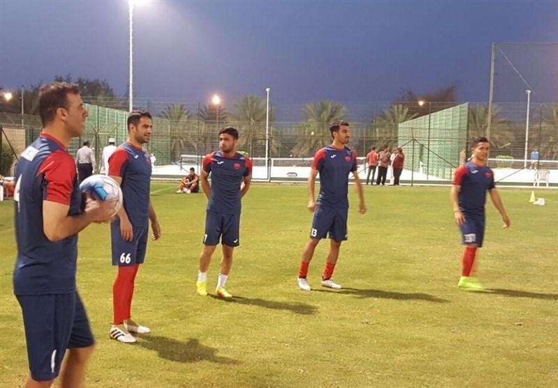 تمرین پرسپولیس در عمان