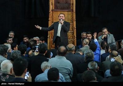 مداحی احمد واعظی در مراسم ختم والده برادران طاهری مادحین اهل بیت(ع)