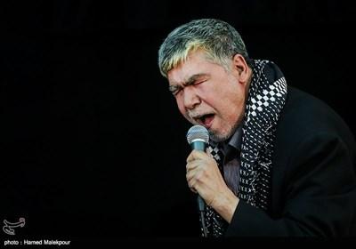 مداحی حاج اصغر زنجانی در مراسم ختم والده برادران طاهری مادحین اهل بیت(ع)