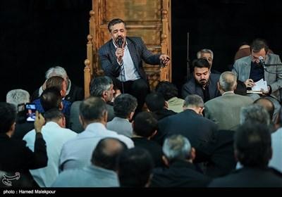 مداحی محمود کریمی در مراسم ختم والده برادران طاهری مادحین اهل بیت(ع)