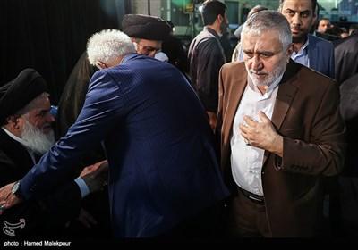 حاج منصور ارضی در مراسم ختم والده برادران طاهری مادحین اهل بیت(ع)