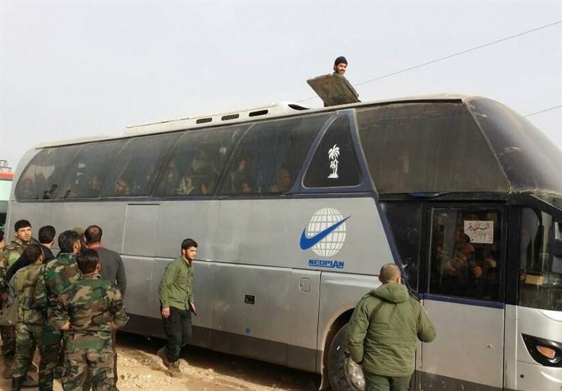 بدء المرحلة الثانیة من اتفاق الفوعة وکفریا ودخول بعض الحافلات إلى حلب