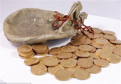 کشف بزرگترین گنجینه سکه طلا در تاریخ انگلیس+عکس