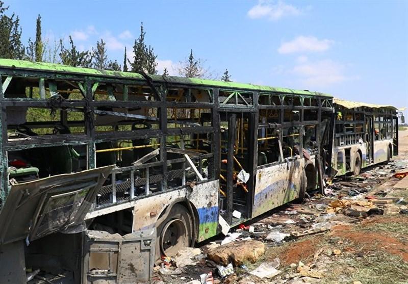 اتوبوس های کفریا و الفوعه