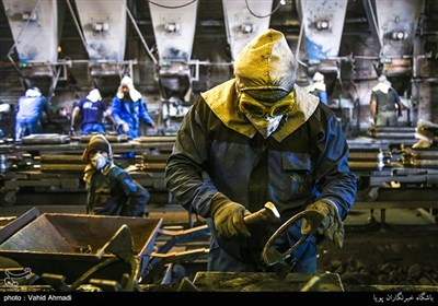 کارخانه تولید قطعات چدنی اجاق گاز