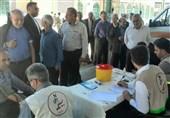 بیش از 1500 نفر از نمازگزاران خرمآبادی بهصورت رایگان ویزیت شدند+ تصاویر