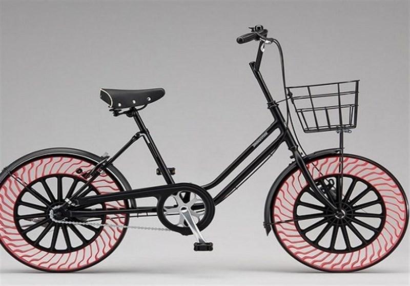 دراجات هوائیة بإطارات خالیة من الهواء