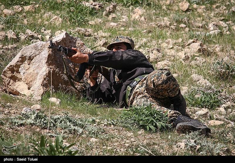 Basij Holds Military Drills in Iran's Northern Khorasan
