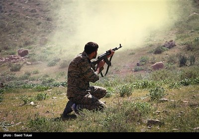 Basij Holds Military Drills in Iran's Northern Khorasan