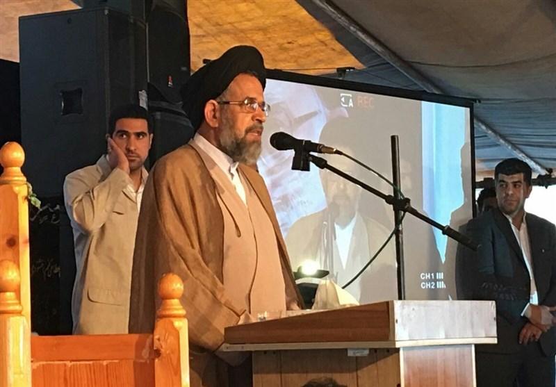وزیر اطلاعات در ساری