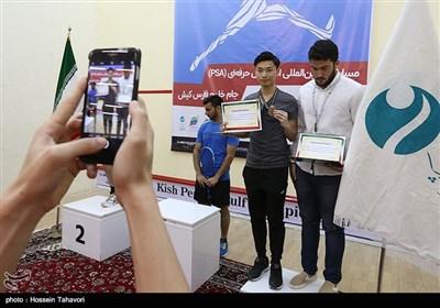 فینال مسابقات اسکواش جام خلیج فارس