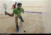 مسابقات قهرمانی اسکواش کشور با حضور 20 استان در اراک برگزار شد