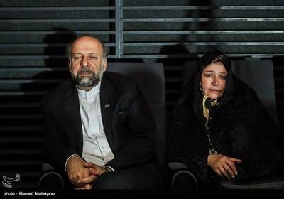 محمدمهدی حیدریان رئیس سازمان سینمایی در مراسم آغاز به کار بخش «زیتونهای زخمی» سی و پنجمین جشنواره جهانی فیلم فجر
