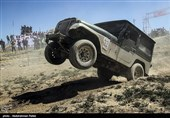 مسابقات آفرود ماشین های دو دیفرانسیل - همدان