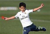 پسر رونالدو برای تیمهای پایه یوونتوس بازی میکند