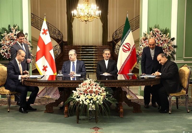 Iran, Georgia Sign Agreements