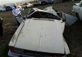 تصادف در اتوبان قم- تهران 14 مجروح برجای گذاشت+ اسامی مصدومان