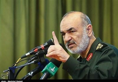 سرلشکر سلامی: انتقام خون شهید سلیمانی به یک آرمان تبدیل شده است