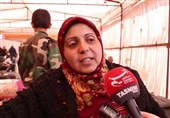 سوریه/مصاحبه با زن آواره فوعه و کفریا