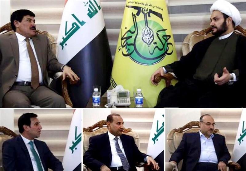 Terörizmle Ortak Mücadele Konusunda Irak Ve Suriyeli Yetkililerin Görüşmesi