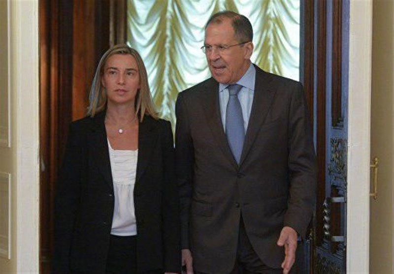 Mogherini to Lavrov: EU Sanctions on Russia Not Brussels' 'Goal'