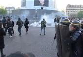 پلیس فرانسه و معترضان