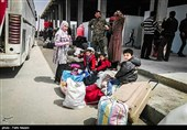 Evacuation Buses Enter Syria's Foua, Kefraya Villages