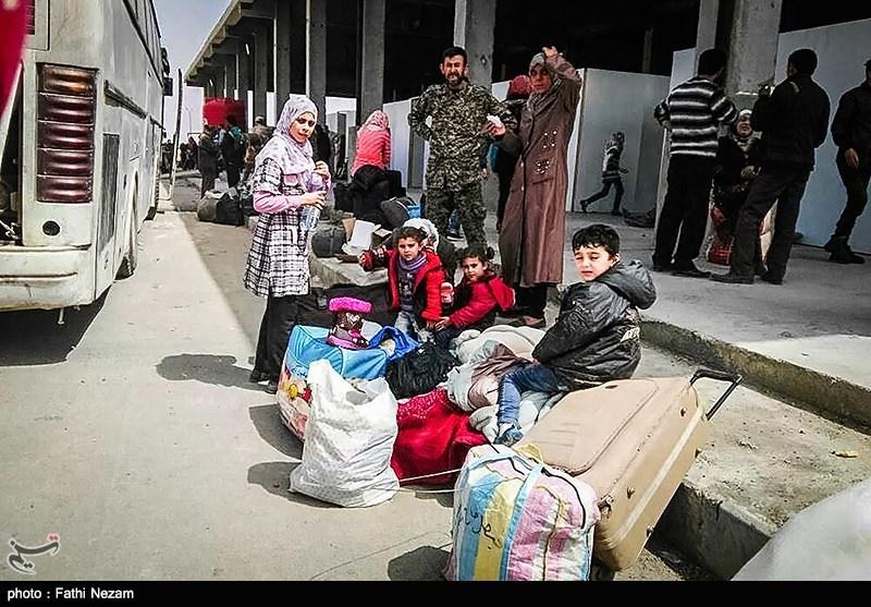 Evacuation Buses Enter Syria's Foua, Kefraya Villages
