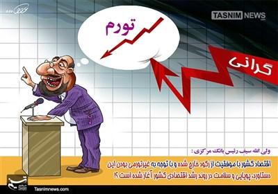 کاریکاتور/ گرانی+تورم+رکود و دیگر هیچ!!!