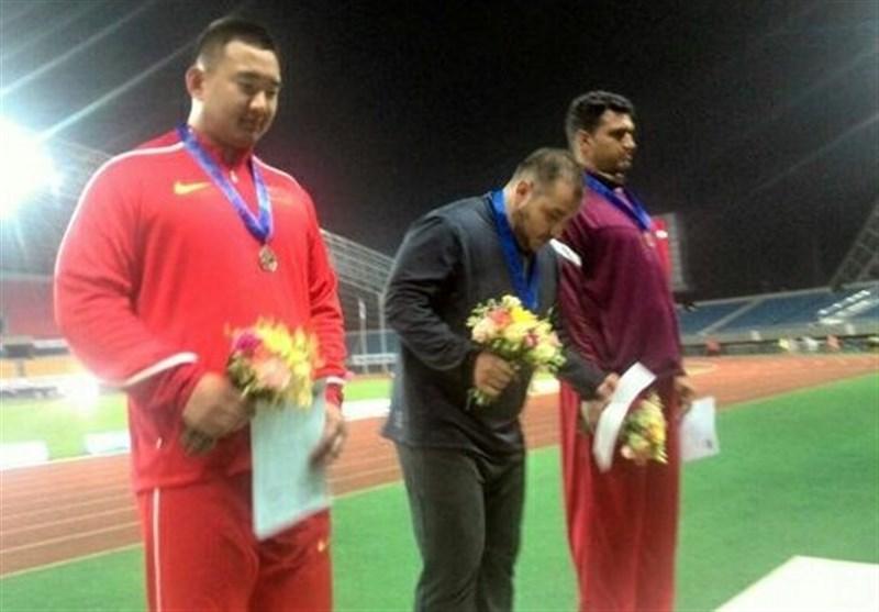 Iran's Shot Putter Samari Bags Gold at Asian Athletic Championships