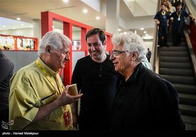 لوریس چکناواریان و اکبر عالمی در چهارمین روز سی و پنجمین جشنواره جهانی فیلم فجر
