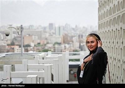 آنا نعمتی در چهارمین روز سی و پنجمین جشنواره جهانی فیلم فجر