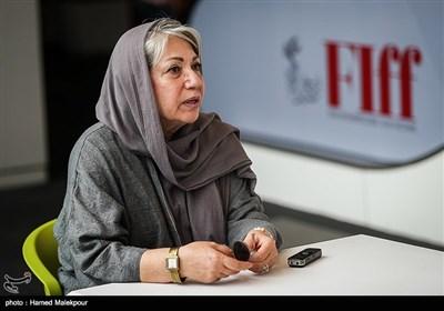 رخشان بنیاعتماد در چهارمین روز سی و پنجمین جشنواره جهانی فیلم فجر